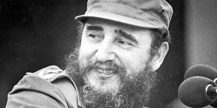 TORONTO, ON: Fidel Castro. Photo taken by Boris Spremo/Toronto Star Feb. 1, 1976. (Boris Spremo/Toronto Star via Getty Images)