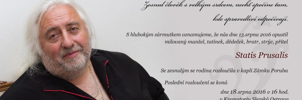 Με αυτή την εικόνα συνοδεύεται η αναγγελία του θανάτου του Επαναστάτη Προύσαλη, στην ιστοσελίδα του ΚΚ Βοημίας - Μοραβίας