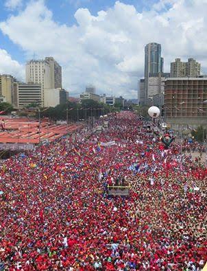 Συγκέντρωση Μαδούρο στο Καράκας, την 1η Σεπτέμβρη
