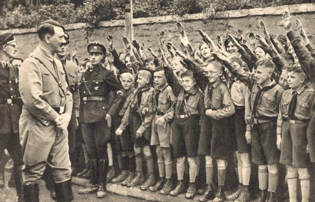 Αποτέλεσμα εικόνας για ναζιστικη νεολαια