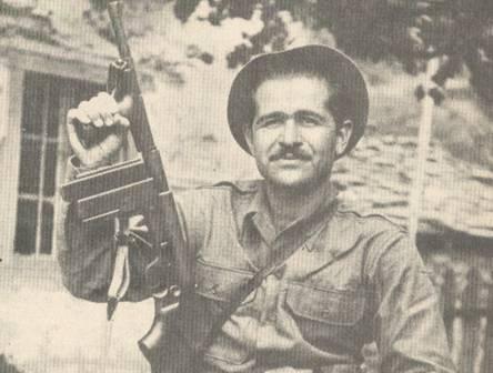 Ο Κώστας Κουβαράς στο βουνό (1944)