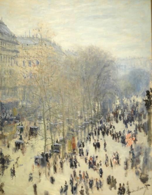 «Το βουλεβάρτο των Καπουτσίνων στο Παρίσι»