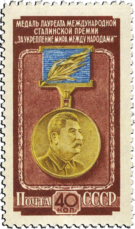 Medal Stalin USSR 1953