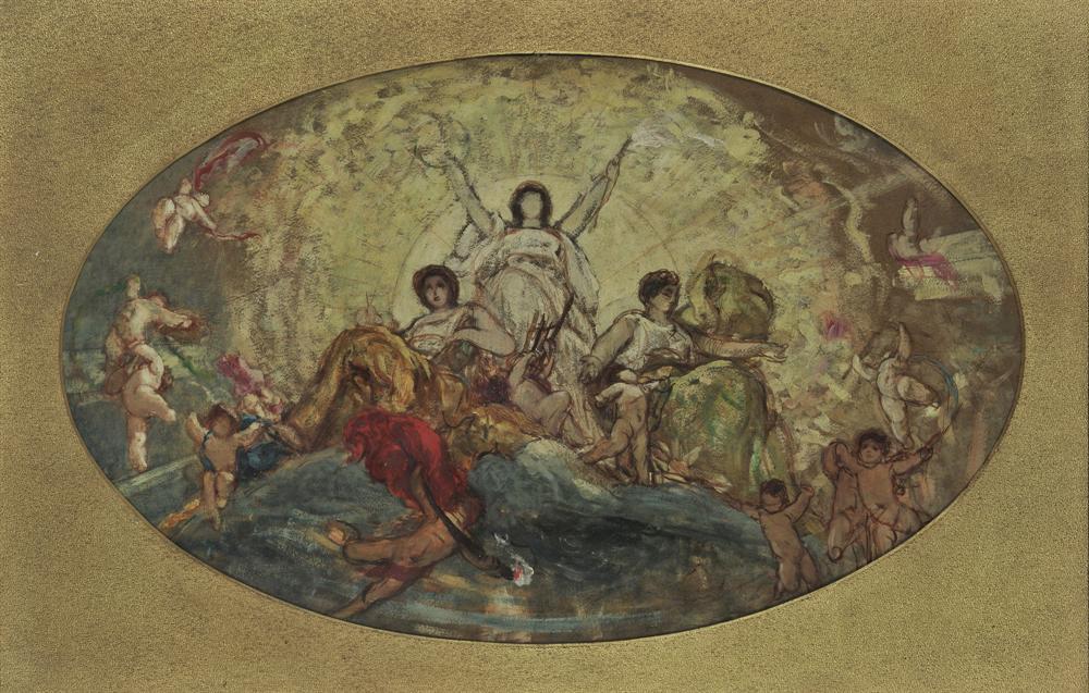 Οι ελευθέριες Τέχνες με τα Πνεύματά τους, 1878-1880
