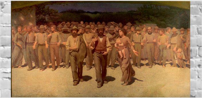 Το τραγούδι του εργάτη, του Κωστή Παλαμά