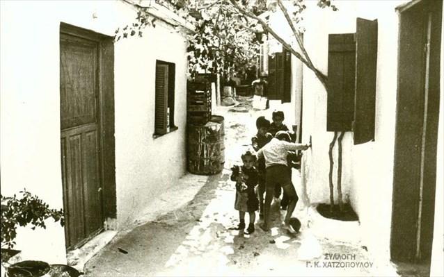 Καθημερινή ζωή στην Δραπετσώνα - Αρχείο Γιώργου Χατζόπουλου