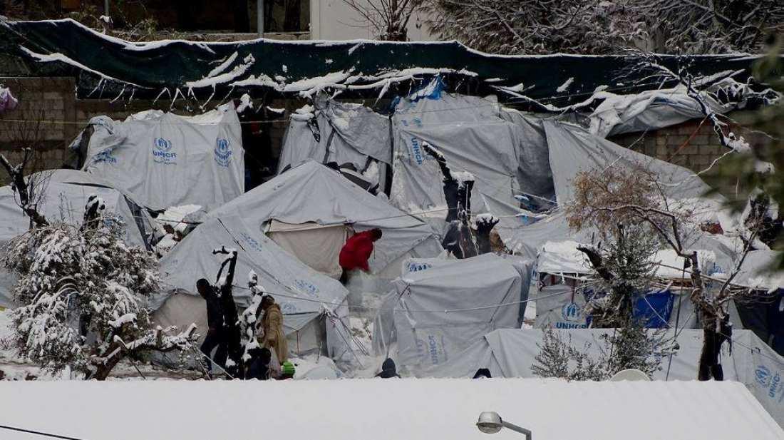 Απαγόρευσαν τη φωτογράφηση του καταυλισμού προσφύγων της Μόριας…