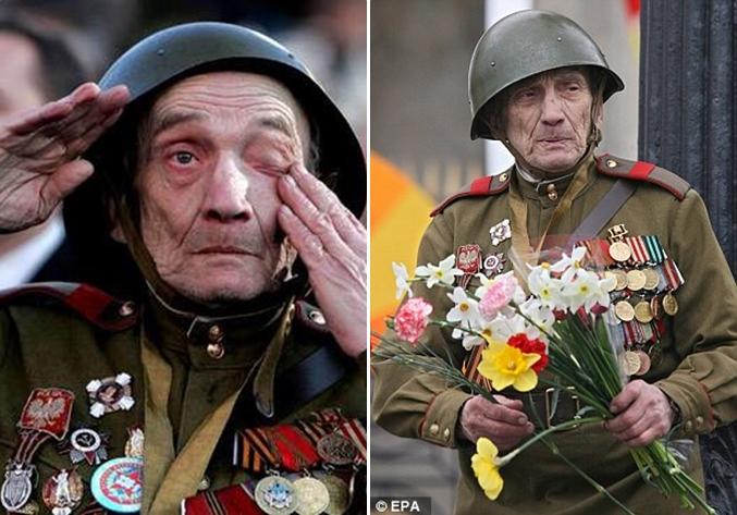Αιώνια ευγνωμοσύνη στους ήρωες μαχητές του Κόκκινου Στρατού