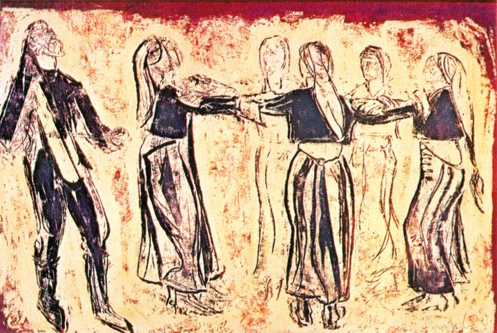 Γυναικείος ποντιακός χορός