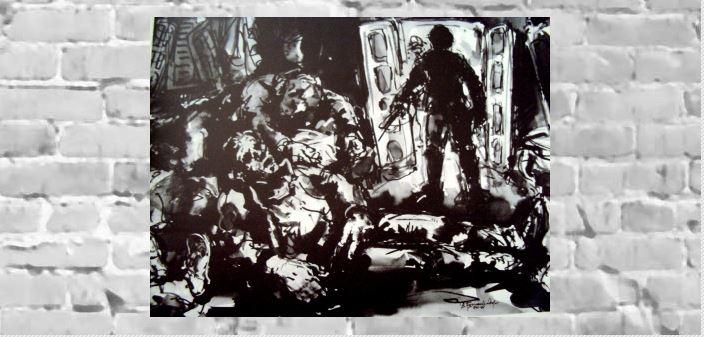 Αντώνης Πολυκανδριώτης: Η επίθεση στο σπίτι της οδού Μπιζανίου στην Καλλιθέα, μελάνι
