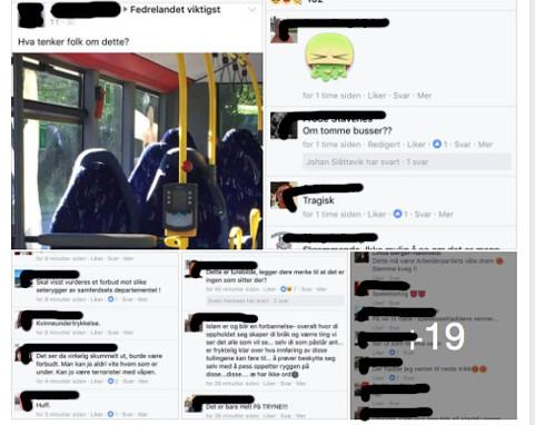Δεκάδες σχόλια ακροδεξιών κάτω από τη φωτογραφία με τα... άδεια καθίσματα