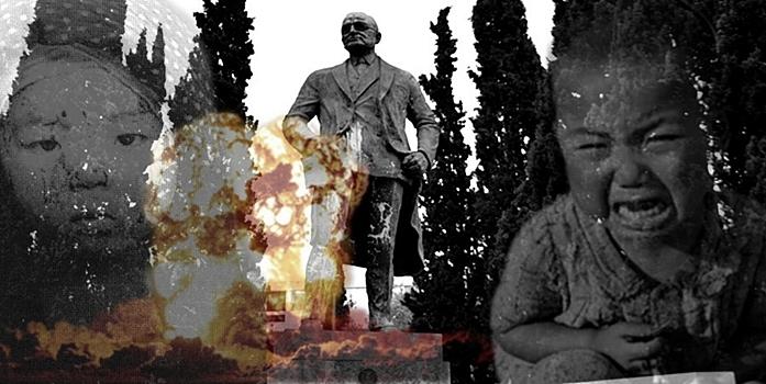 Χάρι Τρούμαν: Ένας εγκληματίας πολέμου στο κέντρο της Αθήνας