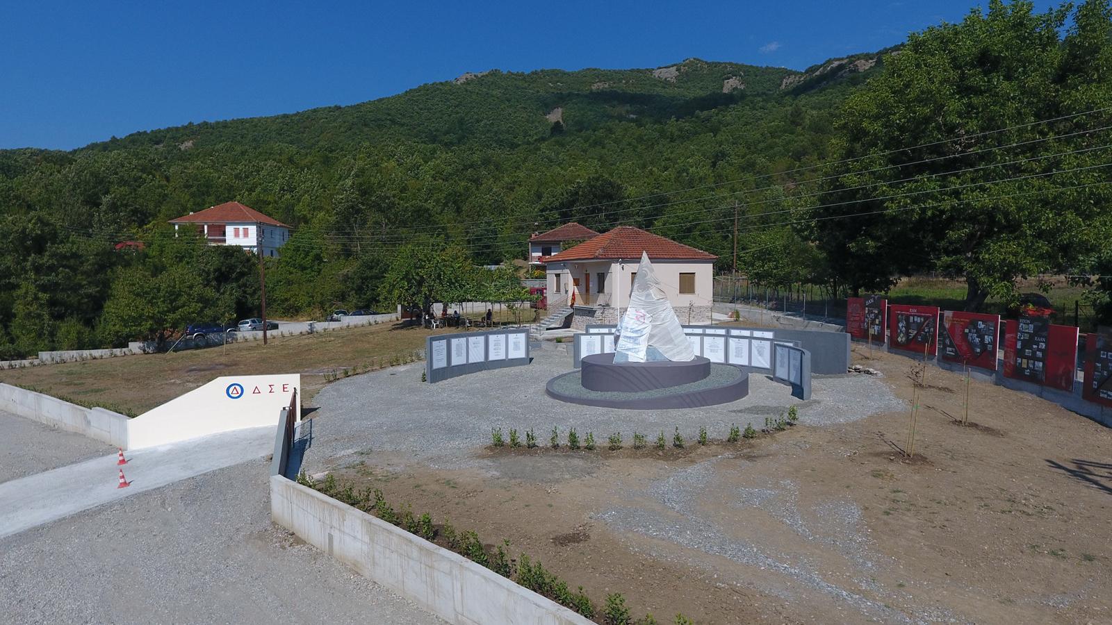 Άποψη του ευρύτερου χώρου του μνημείου (902.gr)