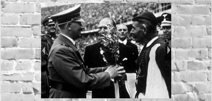 Φωτογραφική ματιά στην ιστορία: Όταν ο Σπύρος Λούης συνάντησε τον Χίτλερ (Φωτό)