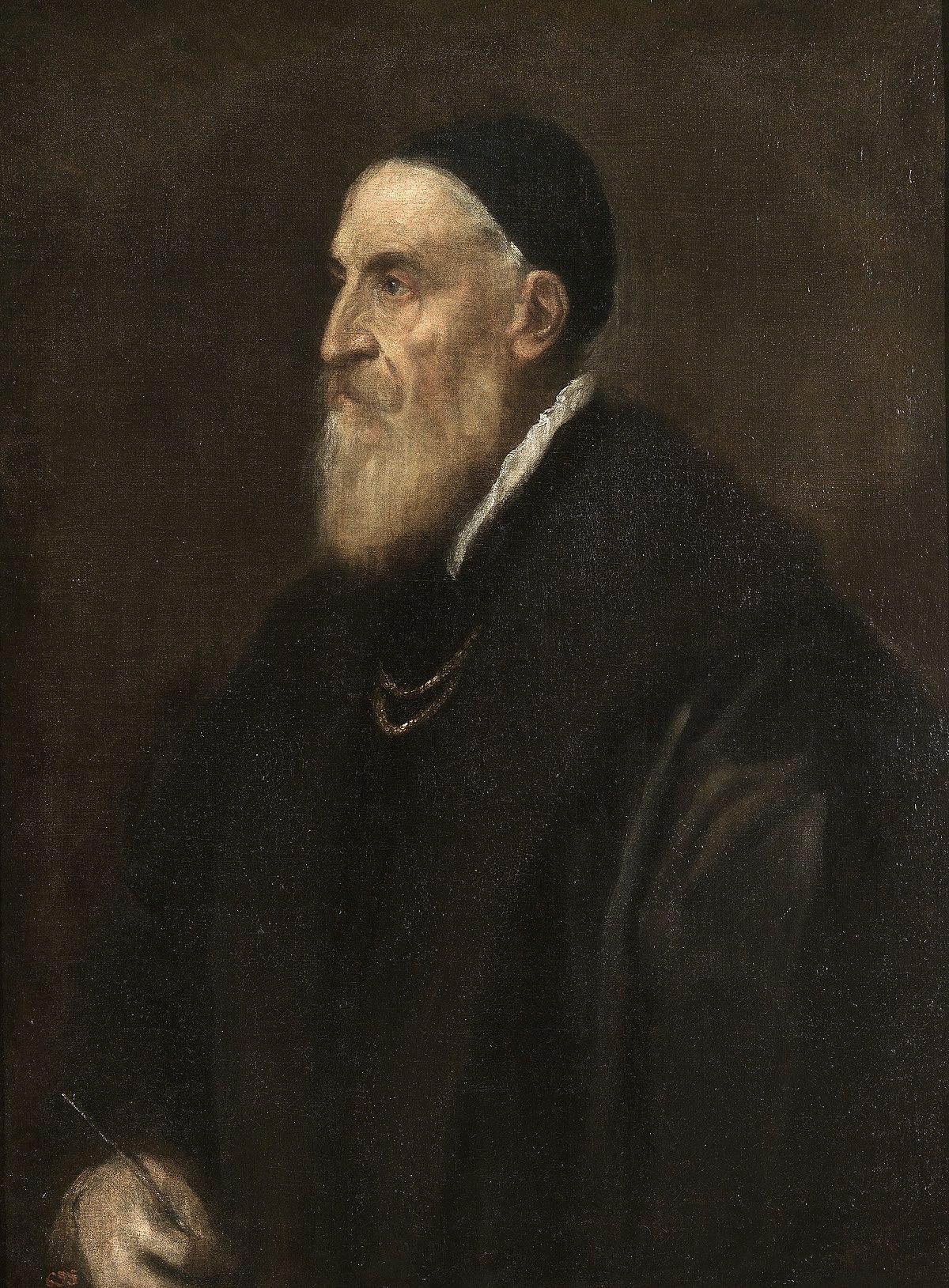 Αυτοπροσωπογραφία, 1567, λάδι σε μουσαμά, 86×65 εκ., Μουσείο Πράδο