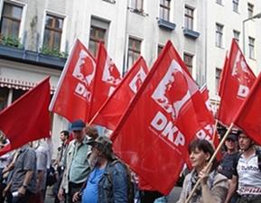 Από παλαιότερη διαδήλωση του Γερμανικού ΚΚ (DKP)