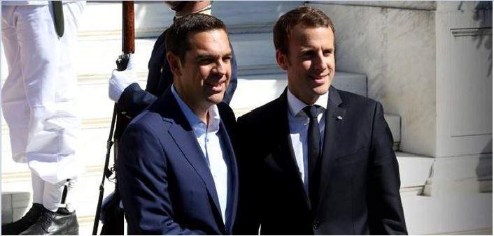 tsipras makron