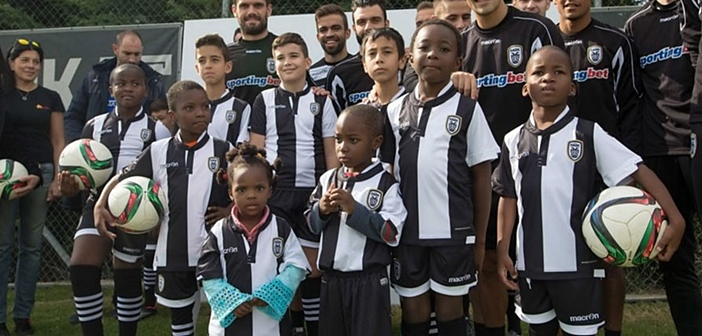 PAOK refugees children