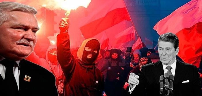 Poland Walesa Reagean