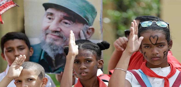 cuban children fidel