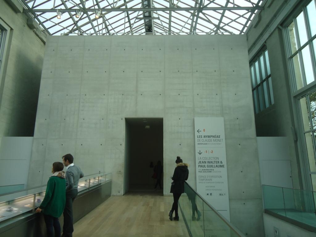 ΕΙΣΟΔΟΣ ΣΤΟ MUSEE DE L' ORANGERIE, TUILERIES DU LOUVRE, PARIS