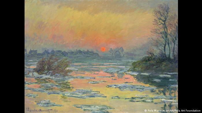 Χειμωνιάτικο ηλιοβασίλεμα στον Σηκουάνα Το ηλιοβασίλεμα και ο αντικατοπτρισμός του στον Σηκουάνα είναι απαράμιλλης ομορφιάς. Ο ήλιος μοιάζει με μια πορτοκαλί μπάλα κάπου στον ορίζοντα. Τα χρώματα είναι εκθαμβωτικά. Τα παχνίδια του φωτός και του νερού δημιουργούν μια μοναδική εικόνα, πρότυπο για την μετέπειτα ιμπρεσιονιστική ζωγραφική.