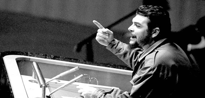 Che Guevara at the UN 1964