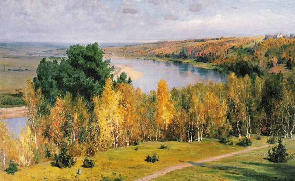 Ζαλατόγιε όσεν-Χρυσό φθινόπωρο, 1893.
