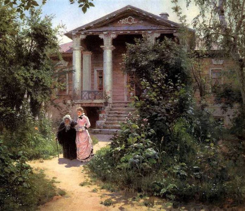 Μπάμπουσκιν σαντ- ο κήπος της γιαγιάς, 1878