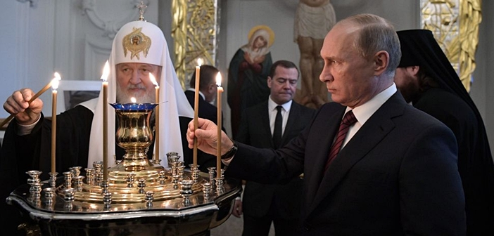 Βλ.Πούτιν: Χαρακτηρίζει τον κομμουνισμό.... «θρησκεία» παρόμοια με τον χριστιανισμό!