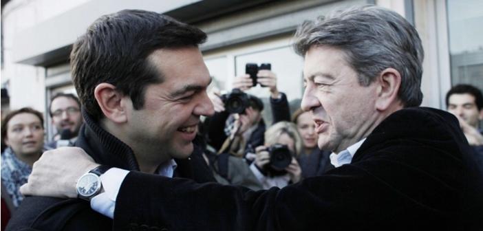 Tsipras Melenchon