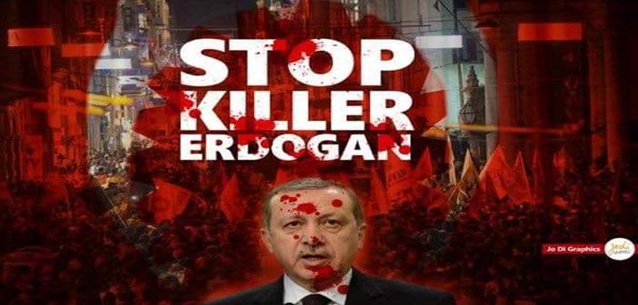 Ο Ερντογάν με δικαστική απόφαση απαιτεί να κατέβει από το twitter αιχμηρό γράφημα του Έλληνα γραφίστα Jo Di