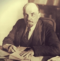 lenin in office