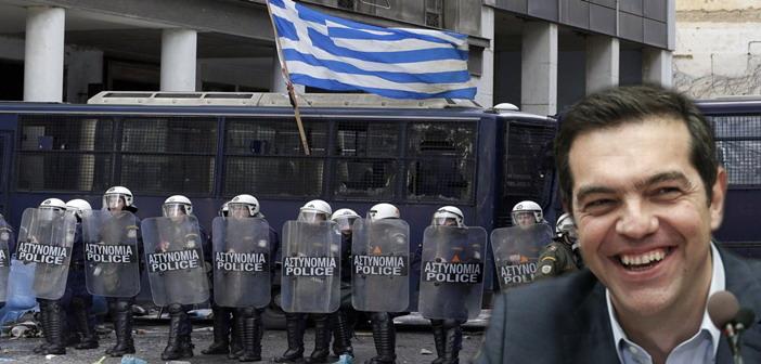 Tsipras MAT police