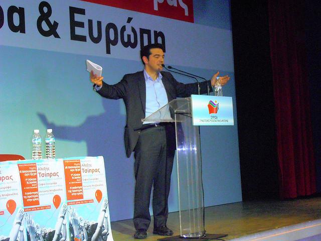 2. Ο Αλ. Τσίπρας μιλά στη Νέα Ιωνία (26.1.2012)