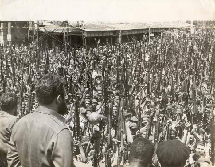 """Φιντέλ Κάστρο: """"Αυτό που δεν μπορούν να μας συγχωρέσουν είναι το γεγονός πως είμαστε κάτω από την μύτη τους. Ότι χτίζουμε Σοσιαλισμό κάτω από την μύτη των ΗΠΑ""""."""