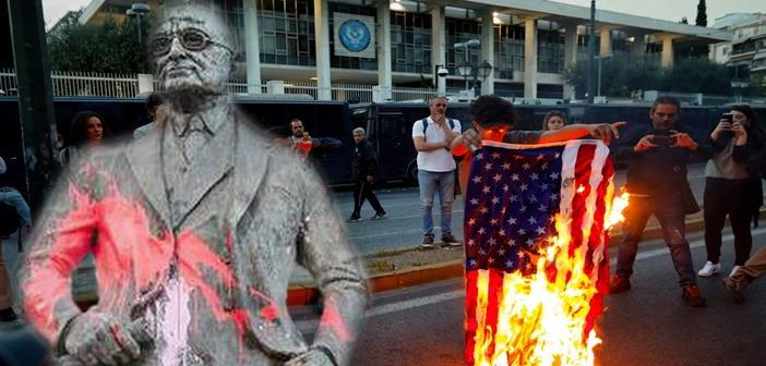 Truman poreia US flag