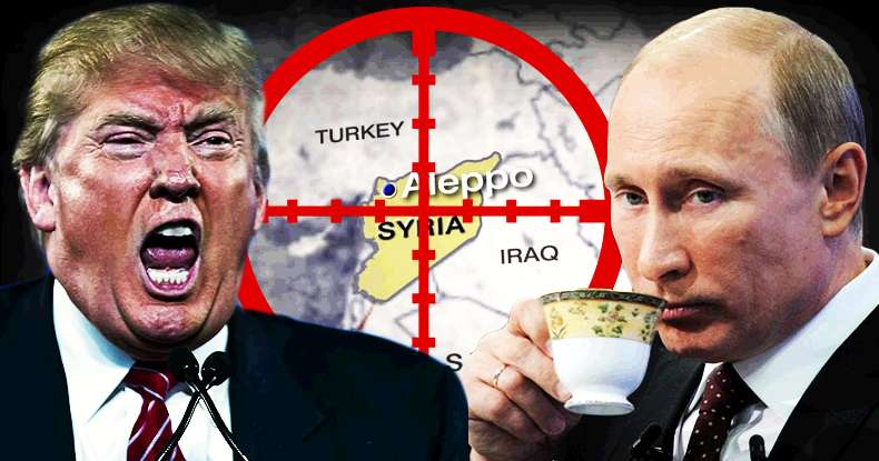 Trump vs Putin on Syria