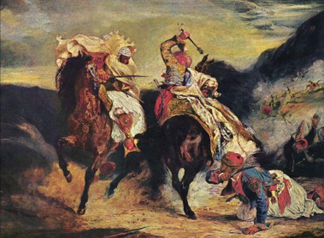 «Η μάχη του Γκιαούρη και του Χασάν»