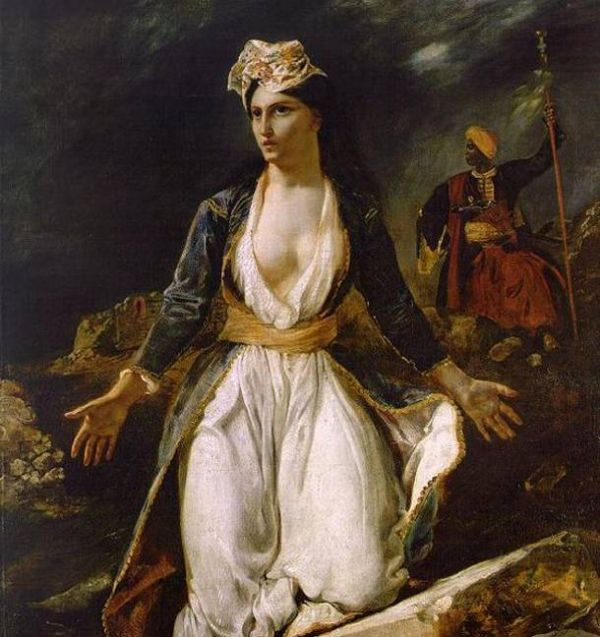 «Η Ελλάδα στα ερείπια του Μεσολογγίου» 1826