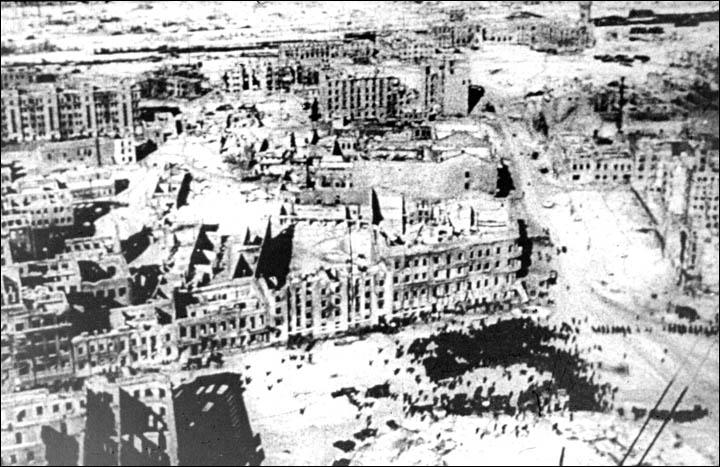 Τα ερείπια του Στάλινγκραντ