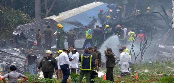 Cuba aircraft accident