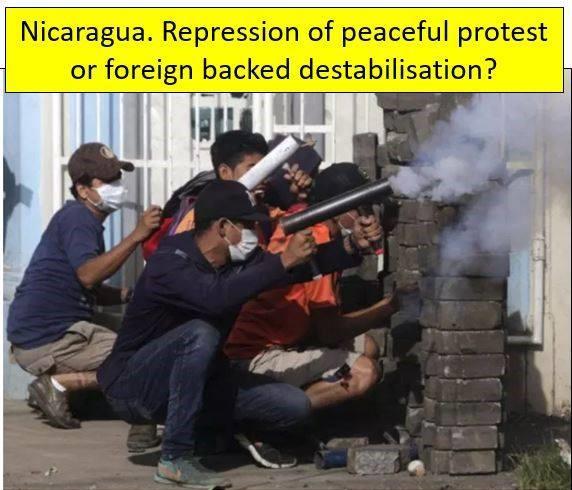 Καταστολή μιας ειρηνικής διαμαρτυρίας ή αποσταθεροποίηση από ξένους στηριζόμενη;