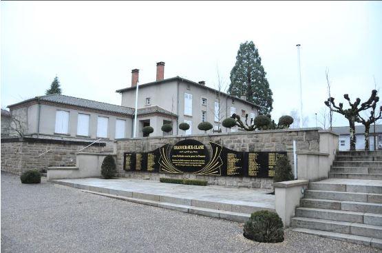 Oradour-Sur-Glane. To μνημείο- φόρος τιμής στα θύματα τηνς Ναζιστικής θηριωδίας στο σύγχρονο οικισμ