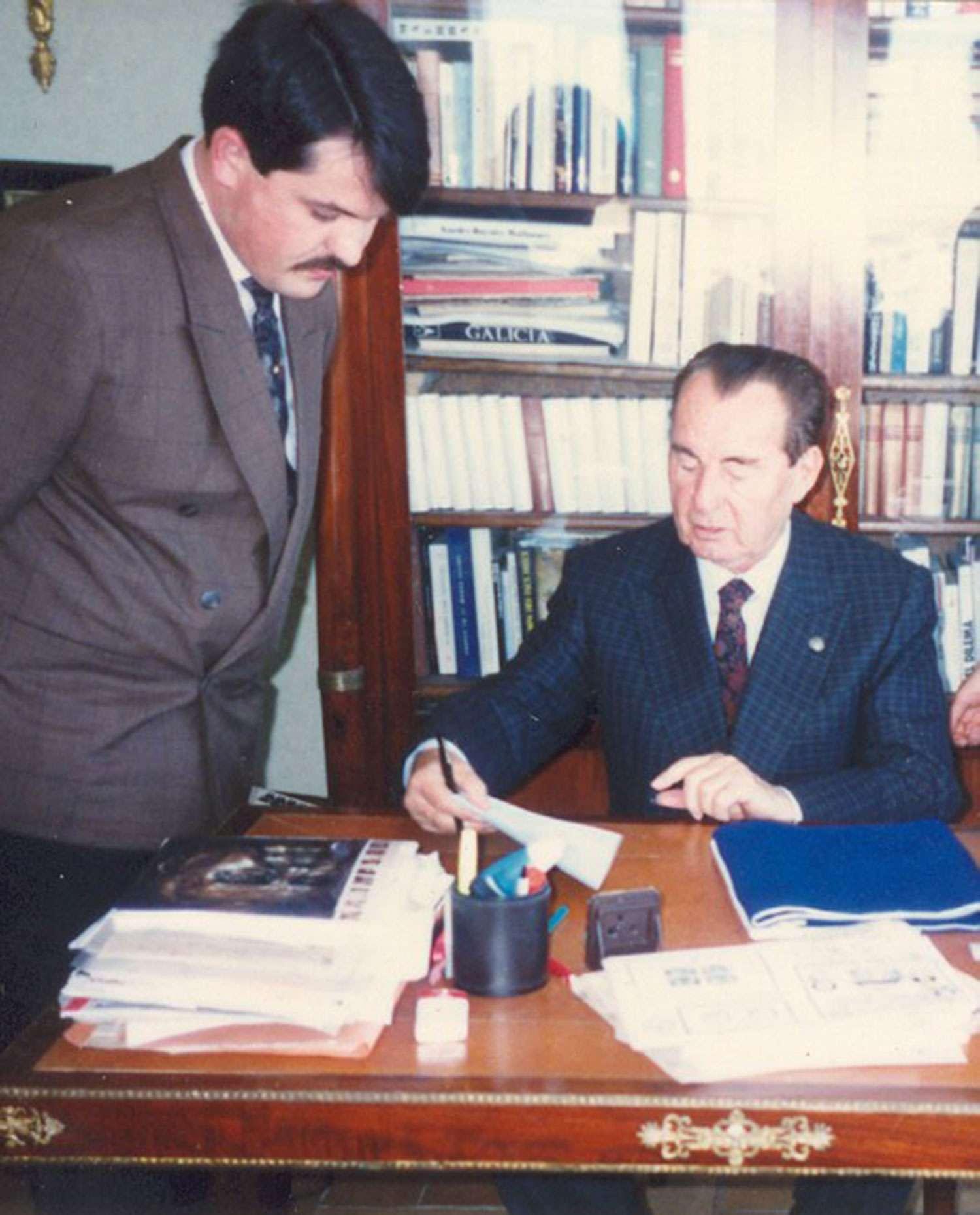 Από τη συνάντηση του Χρ. Παππά με τον Λ. Ντεγκρέλ