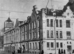 Η Κρατική Σχολή Πυροσβεστικής στο Λένινγκραντ.