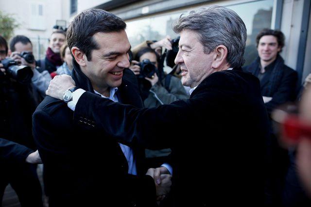 melanchon Tsipras