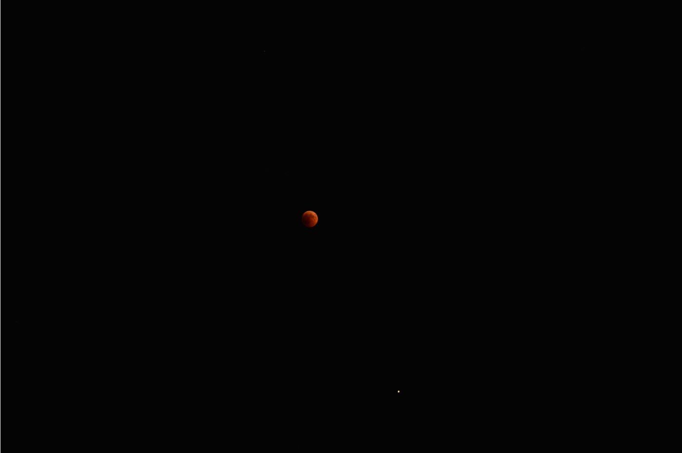 Η Σελήνη με τον Άρη