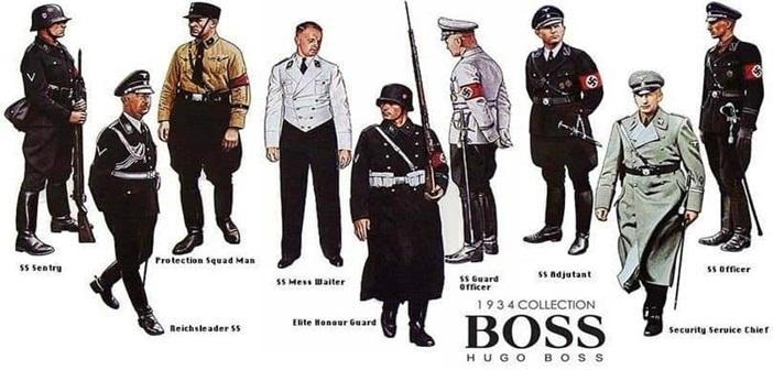 10 Πασίγνωστες Εταιρίες που συνεργάστηκαν με την Ναζιστική Γερμανία - Hugo Boss (Α' Μέρος)