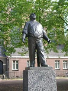 """Ο λιμενεργάτης"""" μνημείο για την απεργία του 41."""